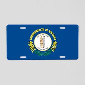 Kentucky State Flag Aluminum License Plate