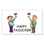 Happy Passover! Rectangle Sticker