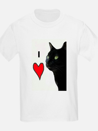 I Love Cats Kids T-Shirt