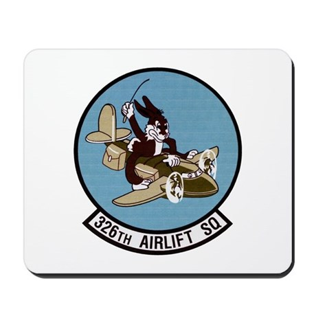 326th Airlift Squadron Mousepad