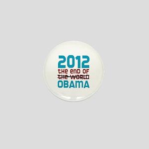 The End of Obama Mini Button