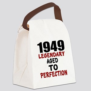 1949 Legendary Aged To Perfection Canvas Lunch Bag
