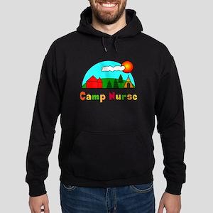 Camp Nurse Hoodie (dark)
