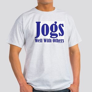 Jogs Well With Others Ash Grey T-Shirt
