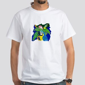 The Three Beaks White T-Shirt