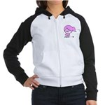 Pregnant not Fat Women's Raglan Hoodie