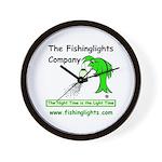 Night Fishing Wall Clock