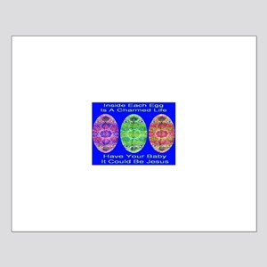 A Charmed Life Blue Small Poster