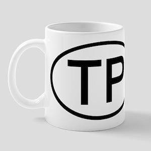 TP - Initial Oval Mug