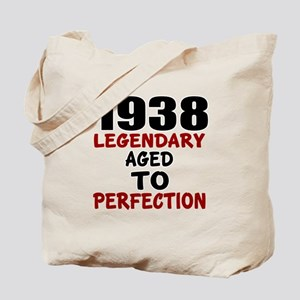 1938 Legendary Aged To Perfection Tote Bag