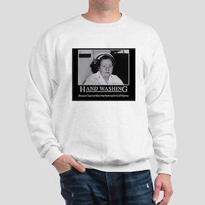 Infection Control Humor 02 Sweatshirt