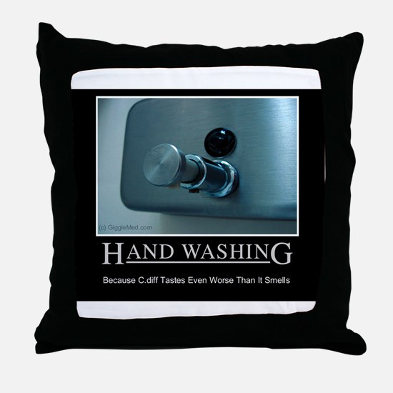 Infection Control Humor 01 Throw Pillow
