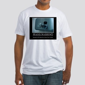 Infection Control Humor 01 Fitted T-Shirt