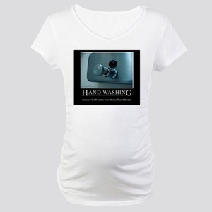 Infection Control Humor 01 Maternity T-Shirt
