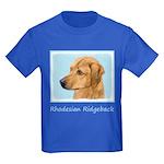 Rhodesian Ridgeback Kids Dark T-Shirt