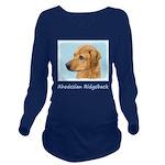 Rhodesian Ridgeback Long Sleeve Maternity T-Shirt
