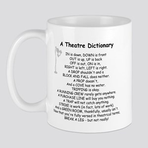 A Theatre Dictionary Mug