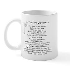 A Theatre Dictionary Mug