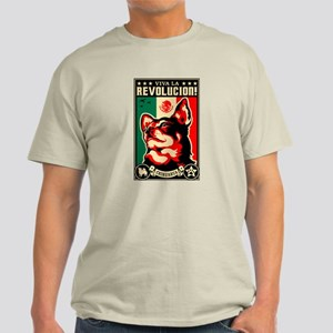 Long Hair Chihuahua Revolution- Light T-Shirt