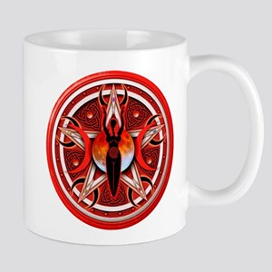 Pentacle of the Red Goddess Mug