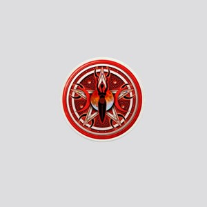 Pentacle of the Red Goddess Mini Button