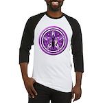 Pentacle of the Purple Goddess Baseball Jersey