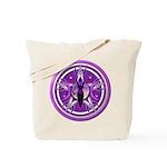 Pentacle of the Purple Goddess Tote Bag