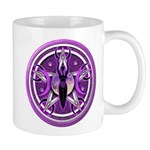 Pentacle of the Purple Goddess Mug