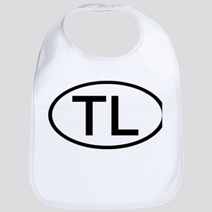 TL - Initial Oval Bib