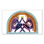 Celtic Lovers Rectangle Sticker