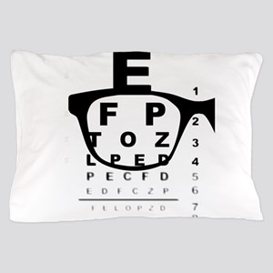Blurry Eye Test Chart Pillow Case