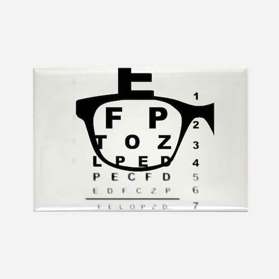 Blurry Eye Test Chart Magnets