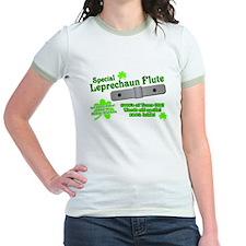 Special Leprechaun Flute Jr. Ringer T-Shirt