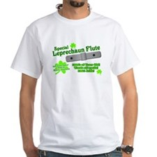 Special Leprechaun Flute White T-Shirt