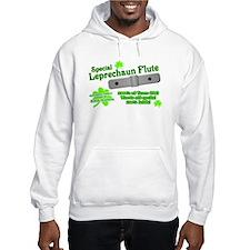 Special Leprechaun Flute Hooded Sweatshirt