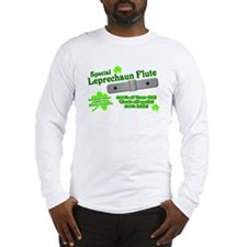 Special Leprechaun Flute Long Sleeve T-Shirt