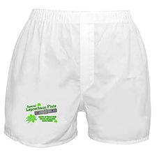 Special Leprechaun Flute Boxer Shorts