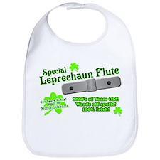 Special Leprechaun Flute Bib