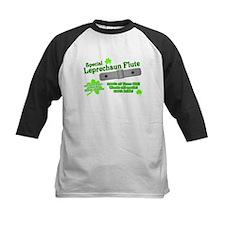 Special Leprechaun Flute Kids Baseball Jersey