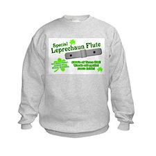 Special Leprechaun Flute Kids Sweatshirt