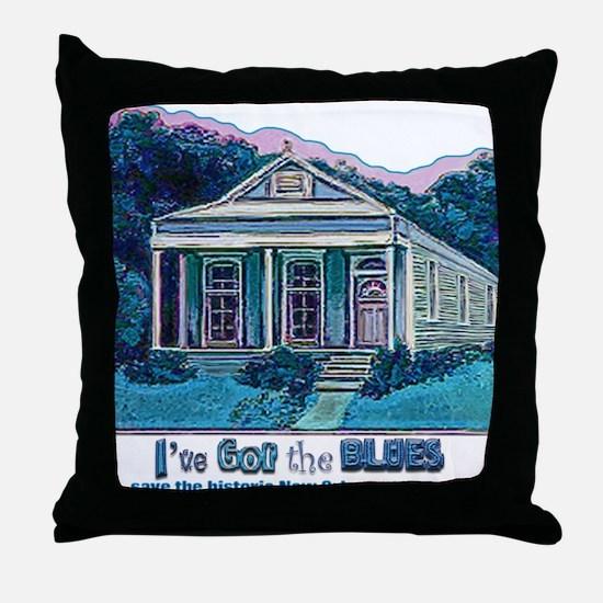 I've Got the Blues, NOLA Throw Pillow