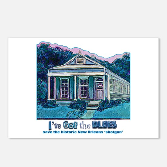 I've Got the Blues, NOLA Postcards (Package of 8)