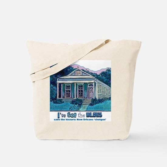 I've Got the Blues, NOLA Tote Bag