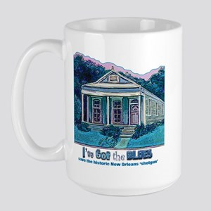 I've Got the Blues, NOLA Large Mug