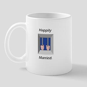 """Happily Married"" Mug"
