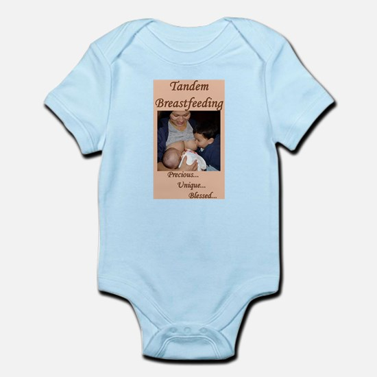 Tandem Nursing Advocacy Infant Creeper