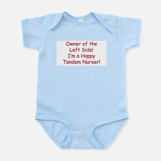 Owner Of The Left Tandem Nurser Infant Creeper