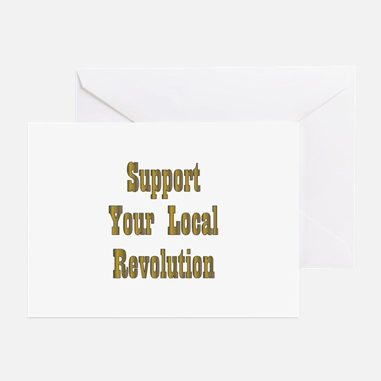 Local Revolution Greeting Cards (Pk of 10)