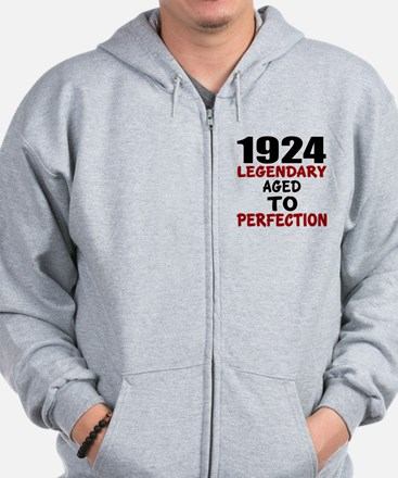 1924 Legendary Aged To Perfection Zip Hoodie