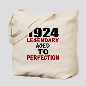 1924 Legendary Aged To Perfection Tote Bag